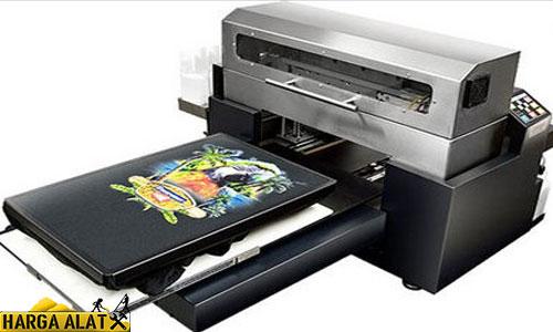 Harga dan Tipe Mesin Printing Kaos Digital