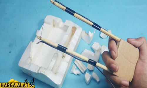 Cara Mudah Membuat Alat Pemotong Styrofoam Sederhana