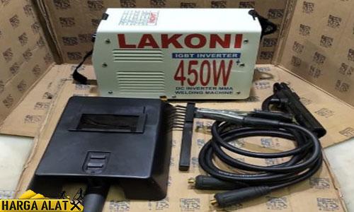 Daftar Harga Mesin Las Lakoni 450 Watt dan 900 watt
