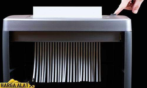Harga Mesin Penghancur Kertas