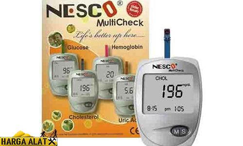 Harga Alat Tes Gula Darah Merk Nesco Terbaru