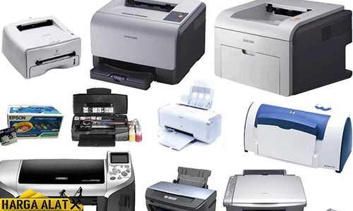 Daftar Harga Printer Semua Merk Terbaru