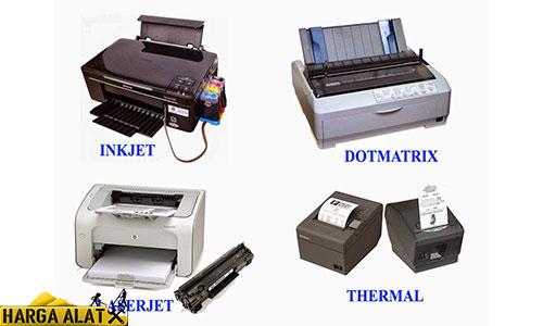 Jenis Printer Paling Sering di Gunakan