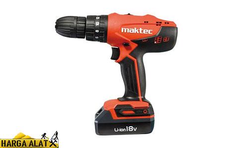 Mesin Bor Beton Maktec Cordless Impact Drill Driver MT081E