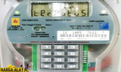 Penyebab Meteran listrik Pulsa Muncul Tulisan Terputus