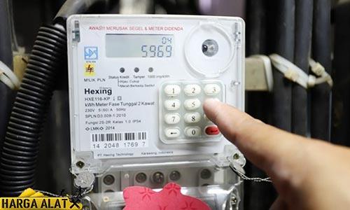 Cara Mengaktifkan KWH Meter Pulsa Rusak Mati Terbaru