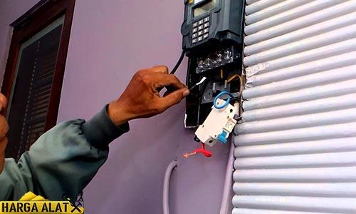 Cara Mengaktifkan KWH Meter Pulsa