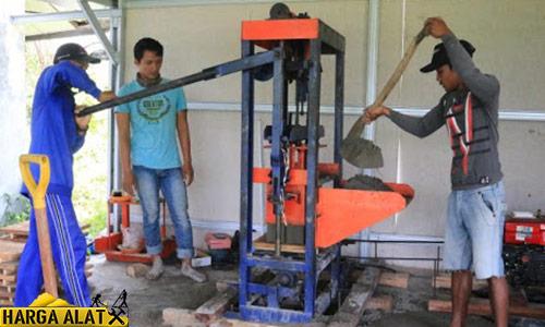 Harga Mesin Cetak Batako Terlengkap Terbaru Beserta Tips Membeli