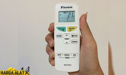 Arti Simbol Remote AC Daikin