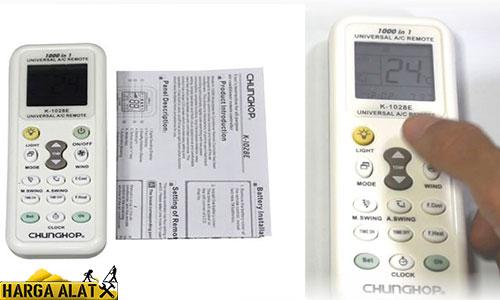 Arti Simbol Remote AC Universal