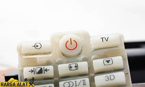 Bersihkan Keypad Remote