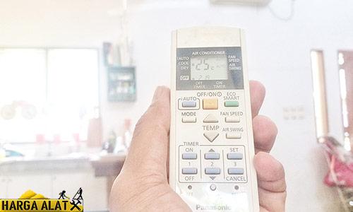 Cara Mengetahui Kerusakan AC Panasonic lewat Remote