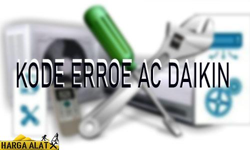 Kode Error AC Daikin