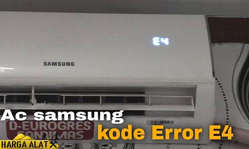Kode Error AC Samsung Penyebab Cara Mengatasinya