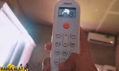 Matikan Timer AC Aqua dengan Remote