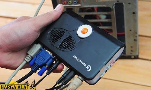 Cara Memasang TV Tuner di Monitor LCD Tanpa CPU