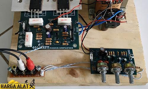 Cara Merakit Power Sanken 400 Watt