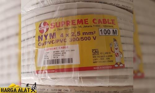 Daftar Harga kabel Supreme