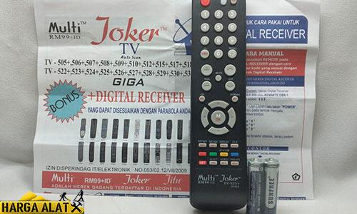 Kode Remote Joker Semua TV