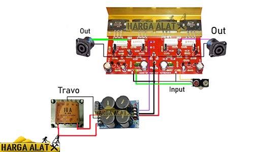 Langkah Merakit Power Sanken 400 Watt