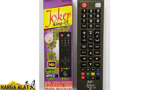 Siapkan Remote Joker