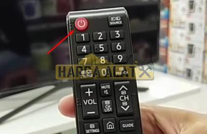 1. Nyalakan TV