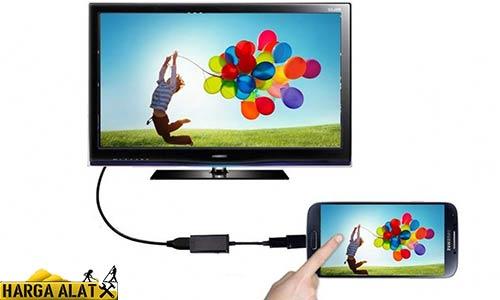 Metode Menyambungkan HP ke TV Polytron dengan Kabel