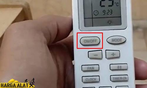 Nyalakan AC Menggunakan Remote