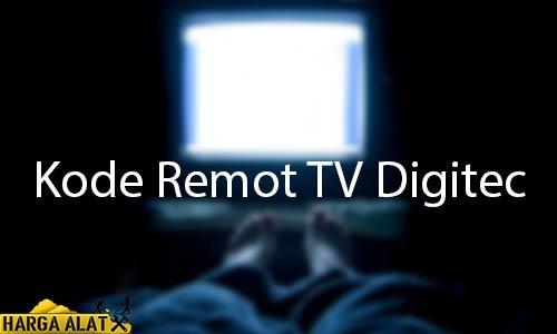 Kode Remot TV Digitec