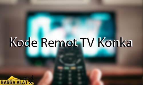 Kode Remot TV Konka