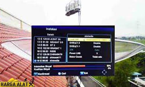 Penyebab TV Parabola Sinyal Tidak Ada