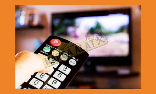 1. Nyalakan Unit TV