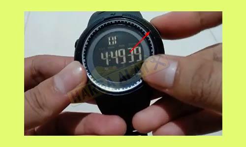 1. Posisikan Layar ke Tampilan Jam