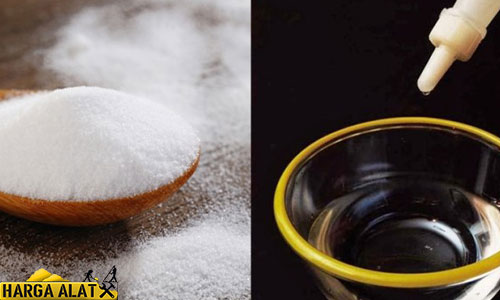 2. Baking Soda Cuka