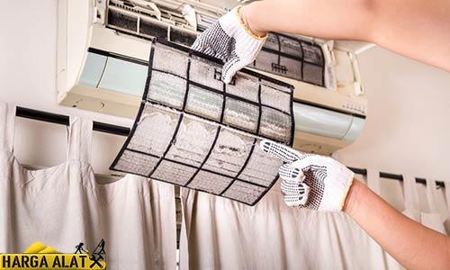 3. Filter AC Tersumbat