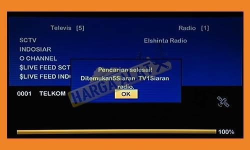 8. Channel SCTV dan Indonesiar Berhasi Dicari