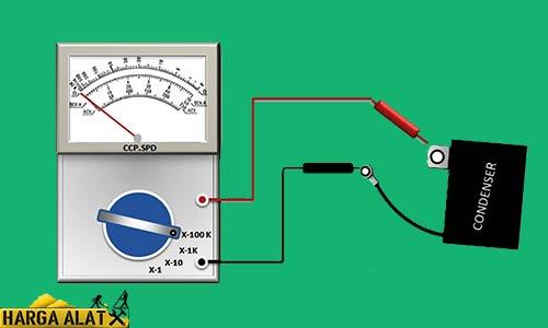 Cara Mengukur Mengecek Kapasitor Kipas Angin