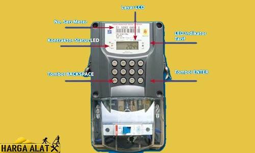 Komponen Meteran Listrik Token Prabayar