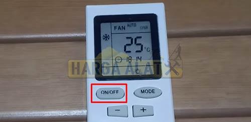 1. Cara Setting Remote AC Sharp Biar Dingin dengan Hidupkan Unit AC