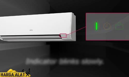 9. Lampu Indikator AC Berkedip
