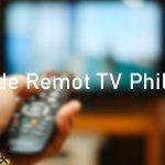 Kode Remot TV Philips