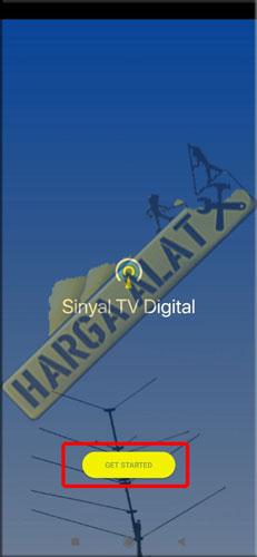 2. Buka Aplikasi Sinyal TV Digital