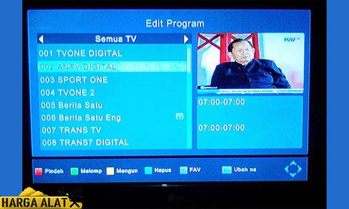 3. Cek Lewat Siaran Televisi