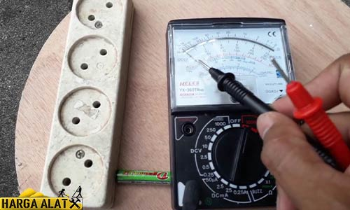 3. Cek Tegangan Jalur Audio
