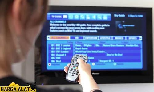 Cara Mencari Channel TV Panasonic Manual Otomatis