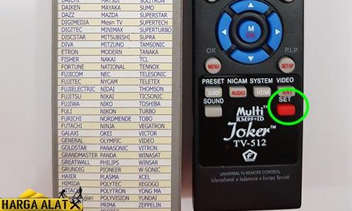 Cara Mengaktifkan Remot Joker ke TV LG