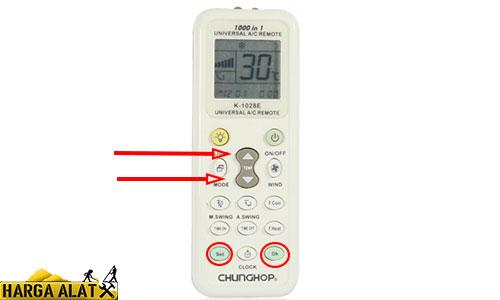 Cara Mengatasi Remote AC Samsung Terkunci