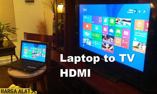 Cara Setting HDMI Laptop Windows 10 ke TV