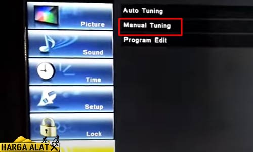 Mencari Channel TV Panasonic Manual