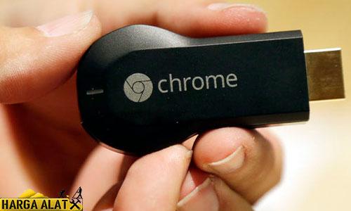 Menghubungkan dengan Chromecast
